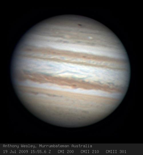 Impacto Jupiter 2009